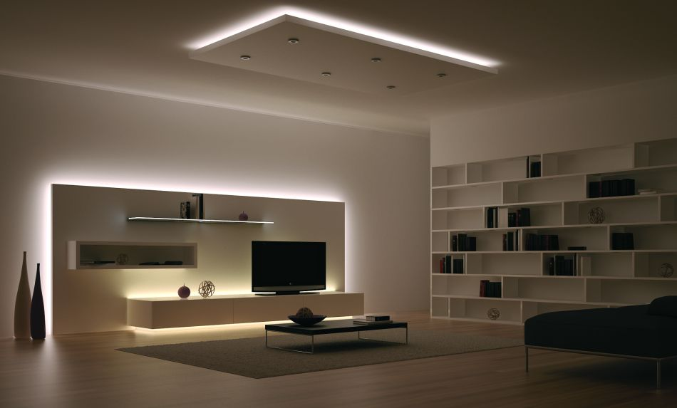 Muebles con led informes espacioyconfort - Luces de led para casas ...
